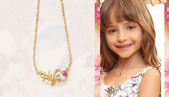 Cadena Hija Gold
