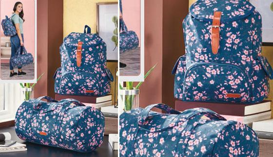 Set de mochila más maletín Rosse