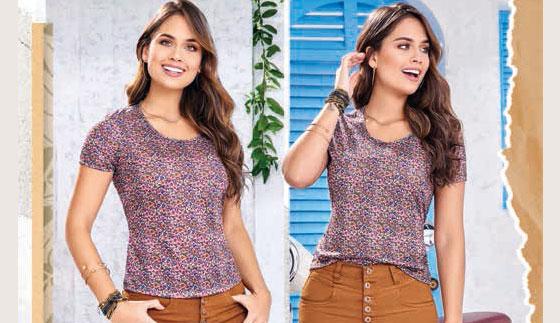 Camiseta Magdia Multi