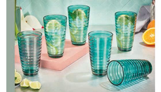 Set de vasos x 6 Carmesí