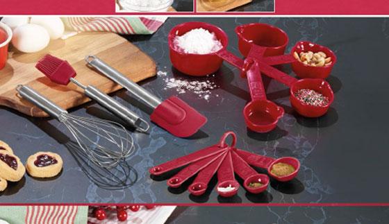 Set de utensilios de repostería Natal